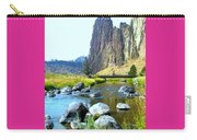 Footbridge At Smith Rock Carry-all Pouch