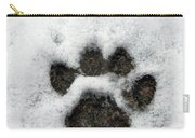 Footprint Series. Cat Carry-all Pouch