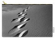 Footprints In Sand Carry-all Pouch