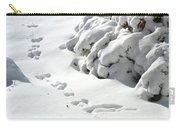footprints in the Snow Carry-all Pouch