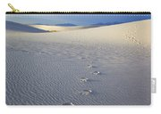Footprints Carry-all Pouch by Mike  Dawson