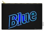 For You Madame Blue Carry-all Pouch