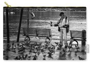 For The Birds Bw Carry-all Pouch