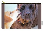 For The Love Of Dogs Carry-all Pouch