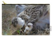 For The Love Of Stretching Carry-all Pouch by Marilyn Wilson