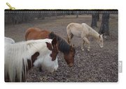 Foraging Horses Carry-all Pouch