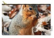 Foraging Through The Autumn Leaves Carry-all Pouch