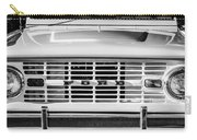 Ford Bronco Grille Emblem -0014bw Carry-all Pouch