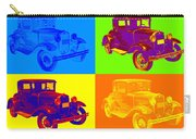 Ford Model A Roadster Pop Art Carry-all Pouch