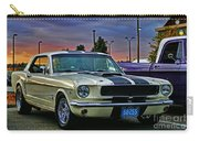 Ford Mustang At Sunset Carry-all Pouch