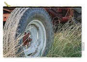 Ford Tractor Tire Carry-all Pouch by Jennifer Ancker