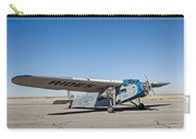 Ford Tri-motor Taxiing Carry-all Pouch
