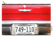 Ford With Minnesota Licence Plate Carry-all Pouch