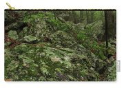 Forest Boulder Field Carry-all Pouch