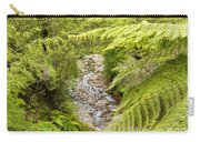 Forest Creek In Lush Rainforest Jungle Of Nz Carry-all Pouch