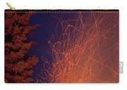 Forest Fire Danger Hot Spark Trails From Campfire Carry-all Pouch