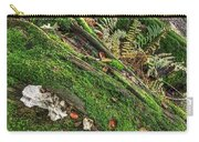 Forest Floor Fungi And Moss Carry-all Pouch