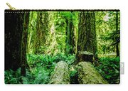 Forest Of Cathedral Grove Collection 9 Carry-all Pouch