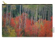 Forest Of Color Carry-all Pouch