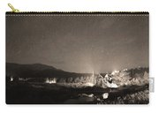 Forest Of Stars Above The Chapel On The Rock Sepia Carry-all Pouch