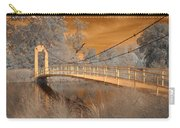 Forest Park Bridge Infrared Carry-all Pouch