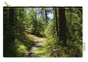 Forest Path In Spokane 2014 Carry-all Pouch