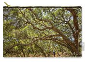 Forest Stroll - The Magical And Mysterious Trees Of The Los Osos Oak Reserve. Carry-all Pouch