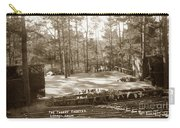 Forest Theater Carmel California  Circa 1930 Carry-all Pouch
