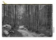 Forest Trail Bw Carry-all Pouch