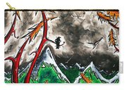 Forever Wild Original Madart Painting Carry-all Pouch