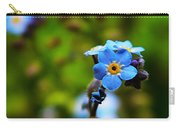 Forget Me Not Bloom Carry-all Pouch
