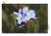 Forget Me Nots Springtime Carry-all Pouch