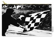 Formula 1 Vintage Checkered Flag Carry-all Pouch