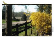 Forsythia Along The Highway Carry-all Pouch