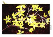Forsythia Branches Carry-all Pouch