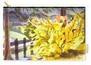 Forsythia In Springtime Carry-all Pouch