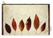 Forsythia Leaves In Fall Carry-all Pouch