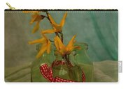 Forsythia Yellow Bells Carry-all Pouch