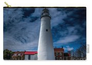 Fort Gratiot Lighthouse From The Water Side Carry-all Pouch