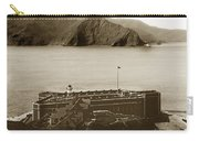 Fort Point And The Golden Gate San Francisco Circa 1890 Carry-all Pouch