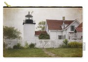 Fort Point Lighthouse Carry-all Pouch by Joan Carroll
