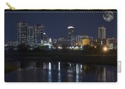 Fort Worth Skyline Super Moon Carry-all Pouch