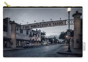 Fort Worth Stockyards Bw Carry-all Pouch
