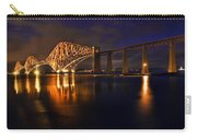 Forth Rail Bridge At Sunset Carry-all Pouch