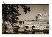 Fortress And Bridge In Sepia Carry-all Pouch