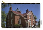 Forty Mile Point Lighthouse In Michigan Number 417 Carry-all Pouch