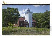 Forty Mile Point Lighthouse In Michigan Number 450 Carry-all Pouch