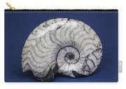 Fossilized Ammonite Carry-all Pouch