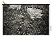 Fossilized Flowers Carry-all Pouch