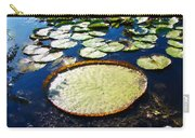 Foul Ball And The Lily Pads Carry-all Pouch